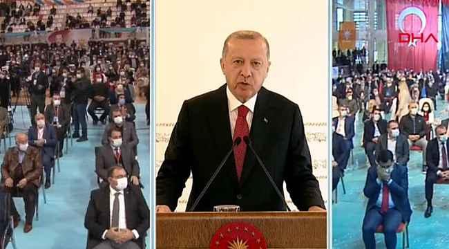 Cumhurbaşkanı Erdoğan'dan Avrupa'ya mesaj