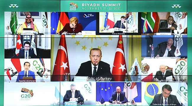 """Cumhurbaşkanı Erdoğan: """"DEAŞ'la göğüs göğüse çarpışan tek NATO ülkesiyiz"""""""