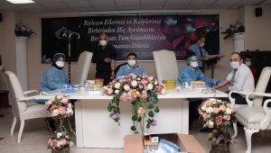Devrek'te belediye çalışanlarına antikor testi yapıldı