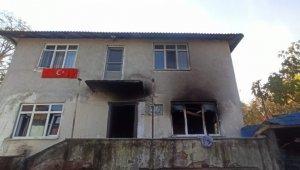 Düzce'de evde çıkan yangında 4'ü çocuk 6 kişi yaralandı