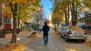 Eskişehir'de eşsiz sonbahar manzarası
