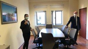 Fethiye Adliyesi'nde görüşme odaları açıldı