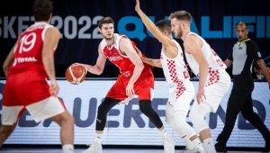 FIBA 2022 Avrupa Şampiyonası Elemeleri: Hırvatistan: 79 - Türkiye: 62