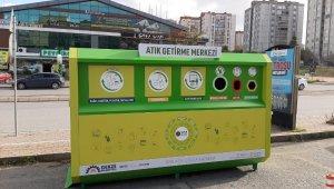 Gebze'ye mobil atık getirme merkezleri yerleştiriliyor