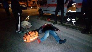 Gece yarısı feci kaza: Alkollü sürücü ağır yaralandı