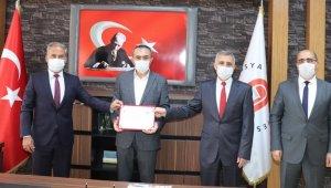 Gümüşhacıköy Hasan Duman MYO'ya Sıfır Atık Yetki Belgesi