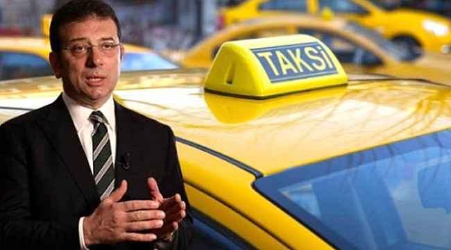 İBB'nin 6 bin yeni taksi projesi teklifi Bakanlık ve Valilik temsilcilerinin oylarıyla reddedildi