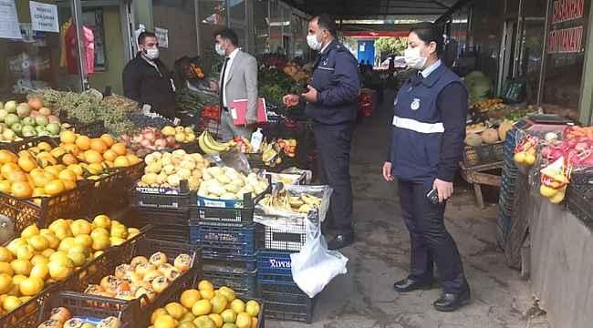 Iğdır'da fahiş fiyat ve etiket denetimi yapıldı