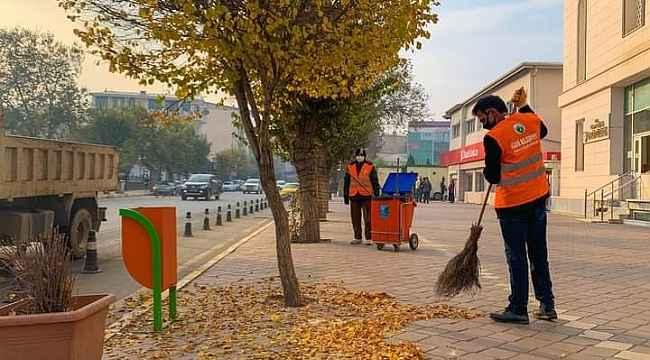 Iğdır'da sonbahar temizliği