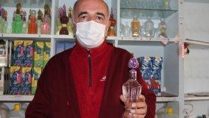 Isparta'da pandeminin başında patlama yapan kolonya satışlarında düşüş yaşanıyor