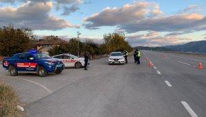 Jandarma'dan trafik denetimi