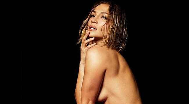 Jennifer Lopez tamamen çıplak pozlarını paylaştı