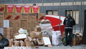 Kahramanmaraş'ta 2 milyon liralık kaçak tütün ve makaron ele geçirildi