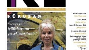 KE 6. sayısında Türk Edebiyatının güçlü ismi Füruzan'ı selamlıyor