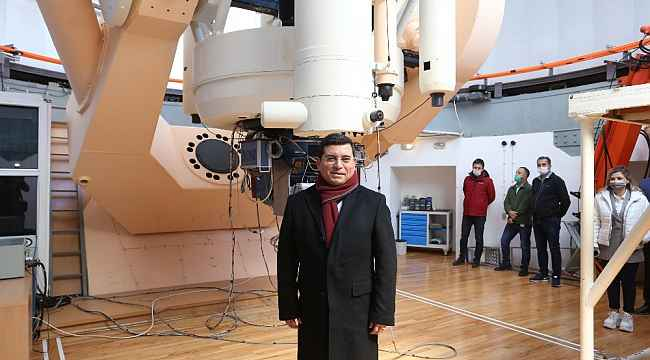 Kepez'e Astronomi Merkezi müjdesi