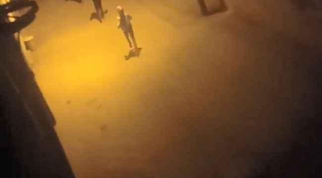 Kısıtlamaya uymayan gençler polisten böyle kaçtı