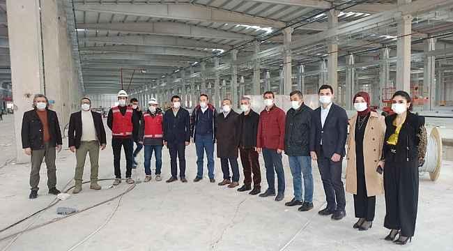 Kızılay'ın Malatya'daki 3 fabrikası 2021'de faaliyete geçecek