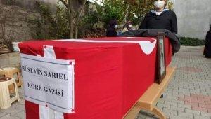 Kore Gazisi askeri törenle uğurlandı