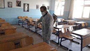 KPSS Öncesi Nazilli'de Korona virüs tedbirleri artırıldı