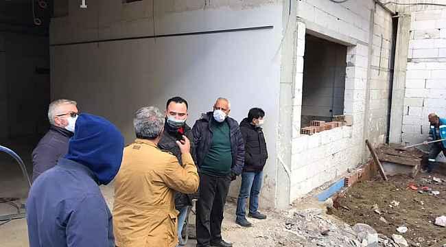 Kula Devlet Hastanesi inşaatı yeniden başladı