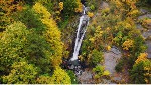 Küreklidere Şelalesi'nde sonbahar güzelliği - Bursa Haberleri