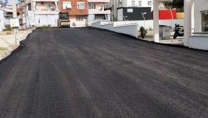 Manavgat Belediyesi'nden Mimar Sinan ve Kavaklı'ya sıcak asfalt