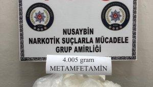 Mardin'de 4 kilogram metamfetamin ele geçirildi
