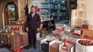Mardin'de kış çaylarına talep arttı