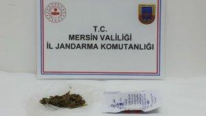 Mersin'de uyuşturucu satan 1 kişi tutuklandı