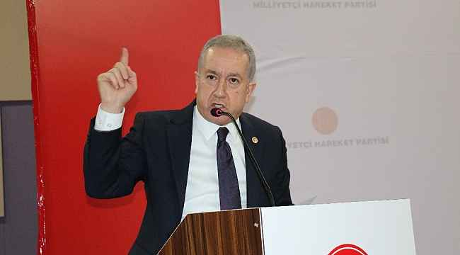 MHP Genel Başkan Yardımcısı Durmaz CHP ve İYİ Parti'ye yüklendi