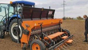 Milli buğday ve arpa tohumu emimi yapıldı