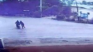 Motosiklet hırsızı 35 saat kamera görüntüsü izlenerek yakalandı