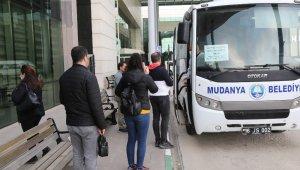 Mudanya'da sağlık çalışanlarına ücretsiz servis hizmeti - Bursa Haberleri