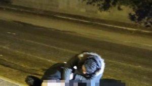 Öfkelenen kocanın hareket halindeki araçtan eşini attığı iddiası