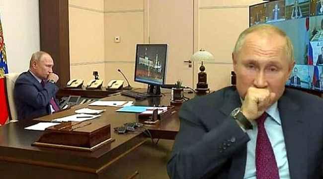 Öksürük krizine giren Putin'in sağlık durumu hakkında bomba iddia