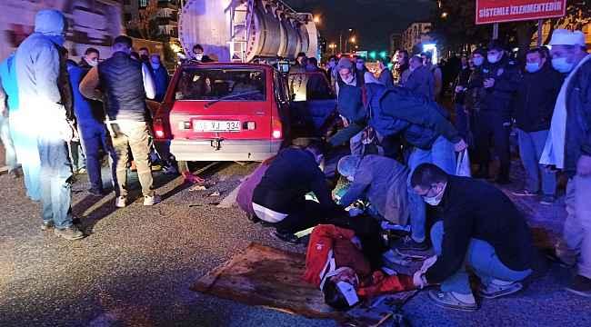 Bursa'da feci kaza... Araç içinde sıkıştı - Bursa Haberleri
