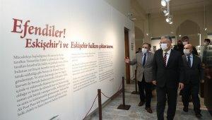 Protokol üyeleri Cumhuriyet Tarihi Müzesini gezdi