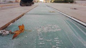 Soğuk havalarda kaygan zeminlere dikkat