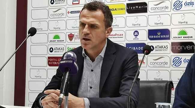 """Stjepan Tomas: """"3 puanı alacakken 1 puana razı olmak çok üzücü"""""""
