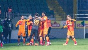 Süper Lig: Çaykur Rizespor: 0 - Galatasaray: 4