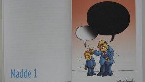 Tarsus Belediyesinden çocuklara 'Karikatürlerle Çocuk Hakları Sözleşmesi' kitabı