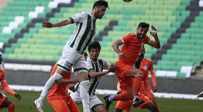 TFF 1. Lig: Bursaspor: 0 - Adanaspor: 0