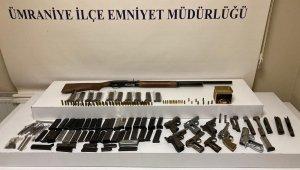 Ümraniye'de yasa dışı silah imalathanesine baskın: 1 gözaltı