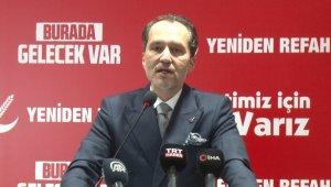 Yeniden Refah Partisi Genel Başkanı Erbakan: