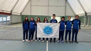 Zonguldak Tenis Deniz Spor Kulübü Karadeniz Bölgesi ikincisi oldu