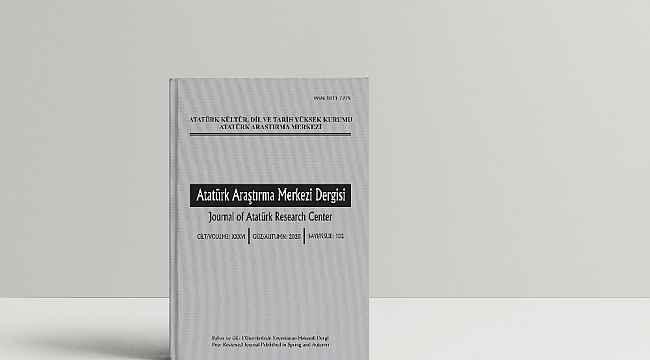 Atatürk Araştırma Merkezi Dergisi'nin 102. Sayısı yayımlandı