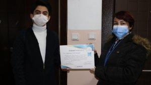 Bağcılar Belediyesi pandeminin öyküsünü yazan gençleri ödüllendirdi