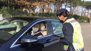 Balıkesir'de trafik kurallarını ihlal eden sürücülere 105 bin lira ceza