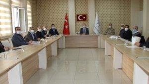 Bismil'de pandemi toplantısı düzenlendi
