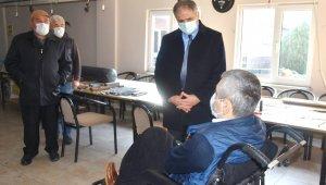 Bozkurt ve ekibi engellilerle buluştu